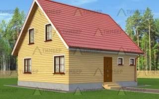 Фундамент для дома из бруса 8 на 8 с мансардой