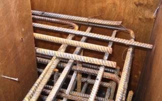 Вязка арматуры для углов фундамента