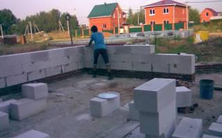 Строим дом из пеноблока своими руками от фундамента до крыши