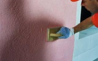 Штукатурка внешних стен дома из газобетона машинным способом