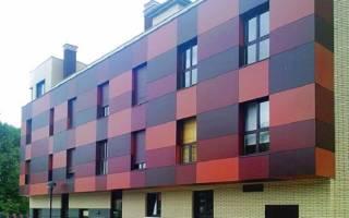 Что такое композитные панели для фасада?
