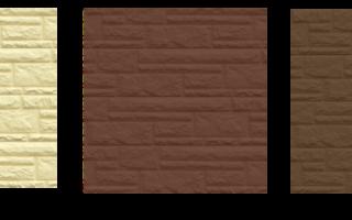 Описание цокольного сайдинга Доломит