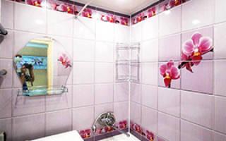 Чем пластиковые панели для ремонта ванны лучше других материалов?
