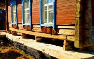 Можно ли сделать фундамент под готовым домом на сваях?