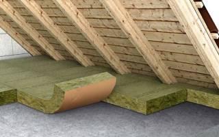 Делается ли пароизоляция потолка дома если чердак утепление глиной
