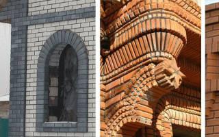 Раскрепованные элементы на фасаде что это