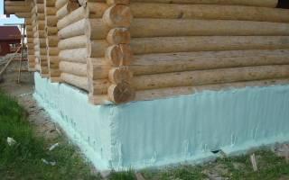 Как утеплить фундамент в деревянном доме?