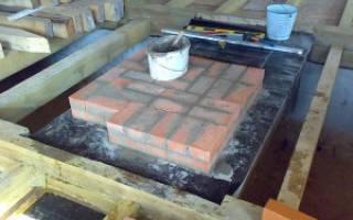 Нужен ли фундамент под печь в бане и каких габаритов