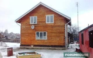 Утепление дома из бруса снаружи каменной ватой