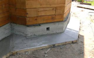 Отмостка на глинистой почве без бетонирования