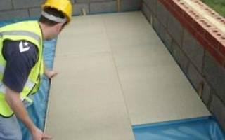 Где следует размещать пароизоляцию в конструкции перекрытия над неотапливаемым подвалом