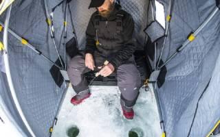 Зимняя палатка своими руками из пароизоляции