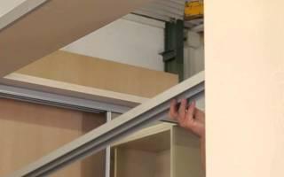 Как сделать встроенный шкаф из гипсокартона купе своими руками?