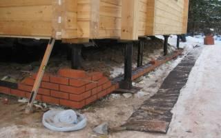 Нужна ли отмостка вокруг дома на свайном фундаменте по тисэ