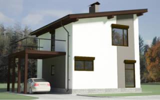 Достоинства и недостатки односкатной крыши