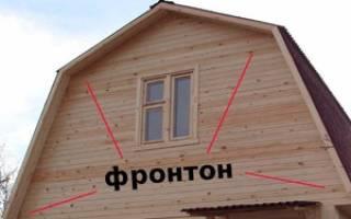 Что такое фронтон крыши и каких видов он бывает