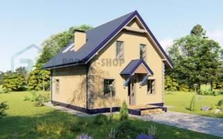 Проекты домов в стиле шале до 120 кв м