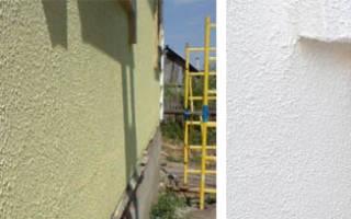 Декоративная фасадная краска для наружных работ
