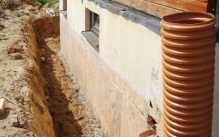 Защита фундаментов и стен подвалов от атмосферных и грунтовых вод