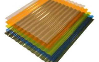 Виды пластикового шифера и их технические характеристики
