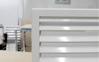Решетки вентиляционные наружные из оцинкованной стали марки рн