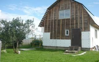 Как утеплить деревянный дом пенопластом своими руками снаружи?