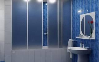 Чем хороши пластиковые шторы в ванне?