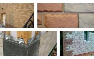 Как установить фасадные панели под камень?