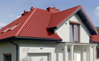 Как застелить крышу профнастилом?