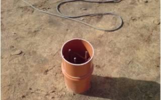 Свайный фундамент из пластиковых труб своими руками пошаговая инструкция