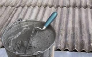 Как заделать дырку в шифере на крыше после града?