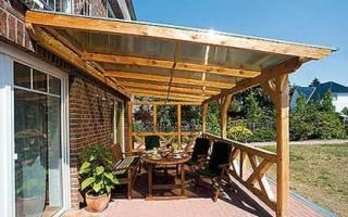 Безраспорная стропильная система двухскатной крыши
