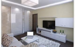 Как сделать короб с гипсокартона на потолке с подсветкой?