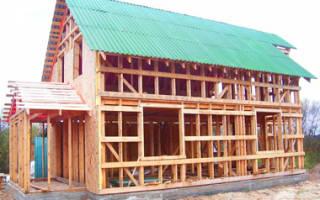 Строим каркасный дом своими руками от фундамента до крыши