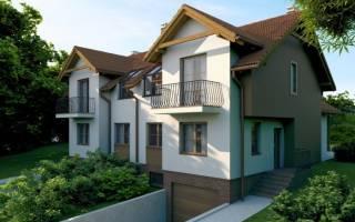 Как правильно делать фундамент под гаражом совмещенный с домом?
