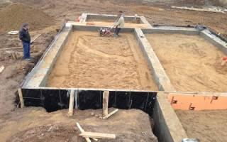 Нужна ли песчаная подушка под ленточный фундамент если грунт глина