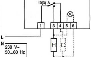 Порядок монтажа и подключения терморегулятора. Как работает?