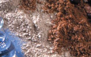 Какие пропорции цемента щебня и песка для фундамента в лопатах?