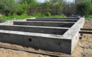 Сколько стоит сделать ленточный фундамент под дом 6 на 8