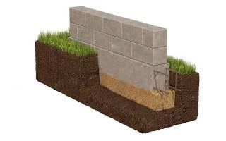Как сделать фундамент для дома из блоков своими руками?