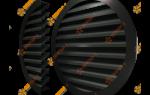 Круглые вентиляционные решетки наружные металлические фасадные