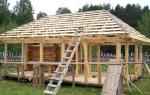Как сделать четырехскатную крышу своими руками для беседки?