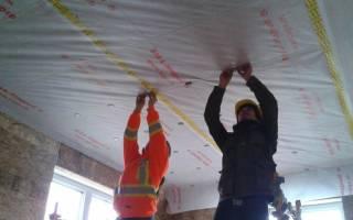 Пароизоляция на потолок в деревянном доме какой стороной