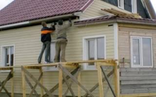 Установка сайдинга своими руками на деревянный дом инструкция