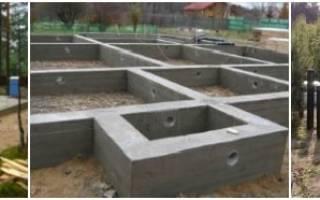 Сколько должен простоять фундамент после заливки для дома из пеноблоков