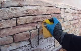 Инструкция по изготовлению искусственного камня из цемента