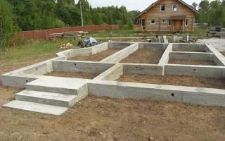Как залить фундамент под дом своими руками не заглублять ленту?
