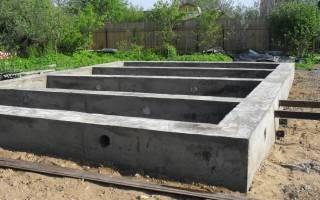 Сколько надо цемента на фундамент дома 8 на 8