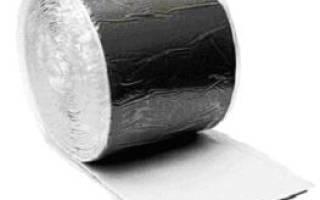 Лента для пароизоляции и утепления стыков коэффициент теплопроводности