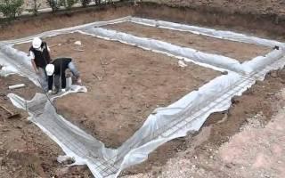 Из чего можно сделать фундамент под дом своими руками